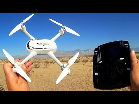 Hubsan H502S Worlds Cheapest GPS Follow Me FPV Camera Drone Flight Test Review