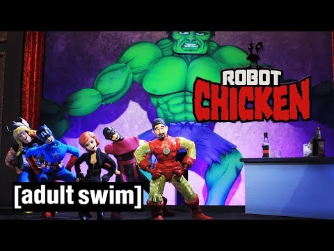The Best of The Avengers | Robot Chicken | Adult Swim