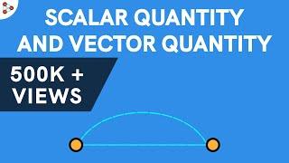 Physics - Scalar Quantity and Vector Quantity