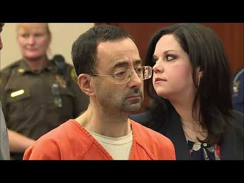 WATCH: Former Team USA Gymnastics doctor pleads guilty to sexual assault