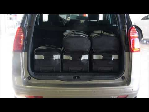 peugeot 5008 trunk space youtube. Black Bedroom Furniture Sets. Home Design Ideas