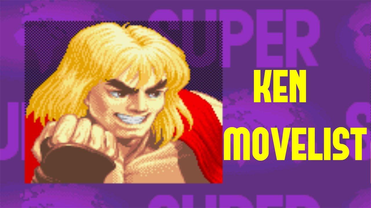 Super Street Fighter Ii Turbo Ken Move List