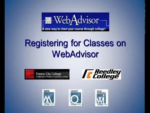 Registering For Classes On Webadvisor 11 29 2013 - YT