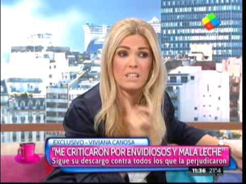 """Viviana Canosa: """"Me criticaron por envidiosos y mala leche"""""""