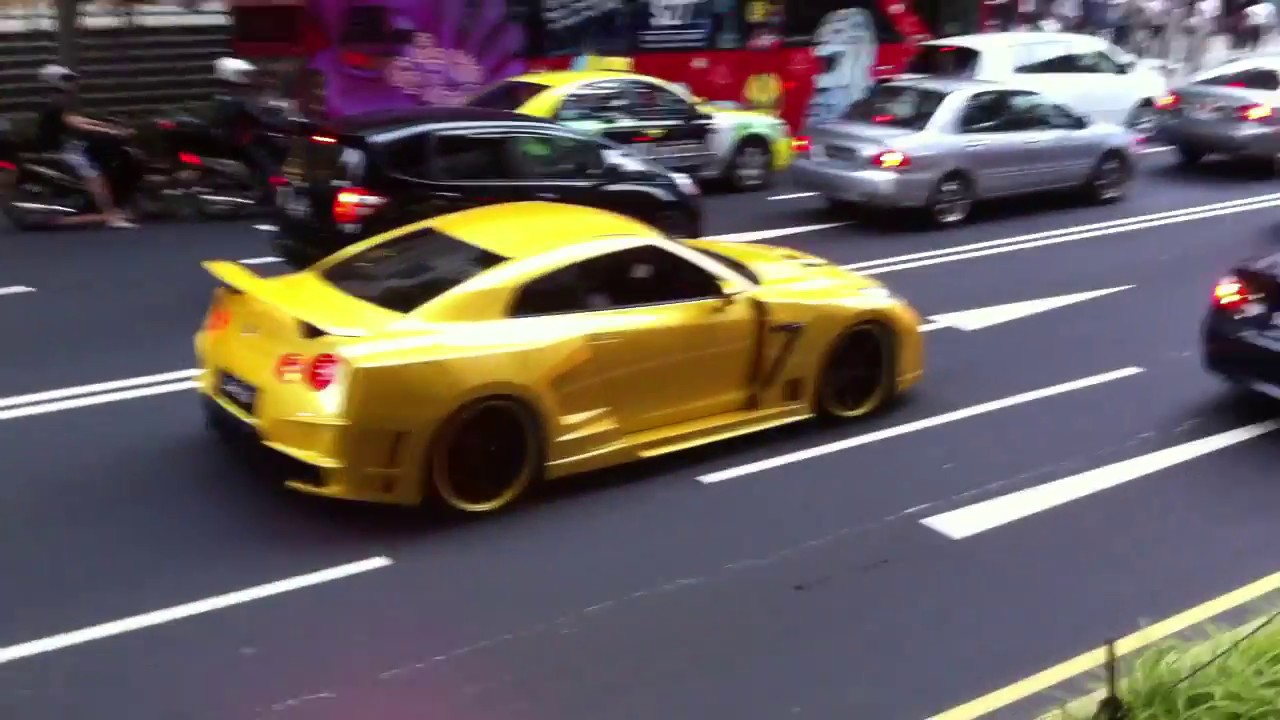 Exceptionnel Custom Wide Body Nissan GT-R R35 - Singapore - YouTube MN01