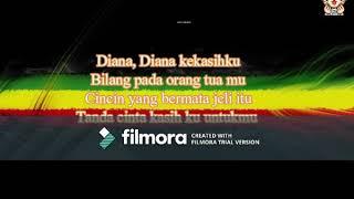 Gambar cover diana (cover reggae lirik)