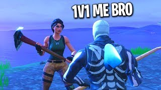NOOBS 1v1 BUILD BATTLE ME FOR A FRIEND REQUEST (Fortnite Playground)