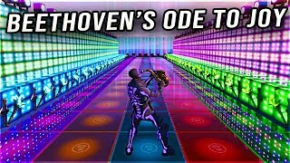 Fortnite BEETHOVEN'S ODE TO JOY Creative Music Map with Code!