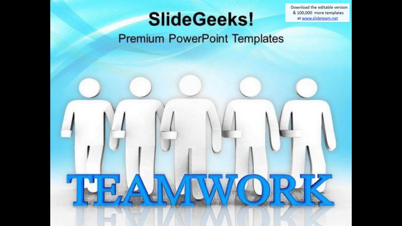 teamwork gives success powerpoint templates ppt backgrounds for ...