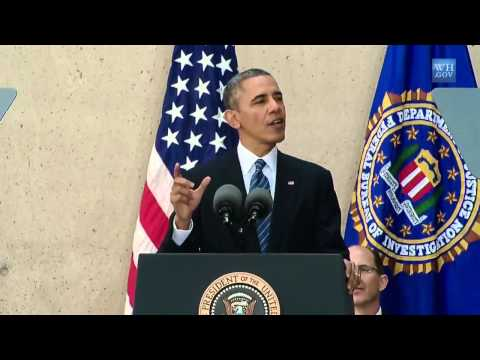 President Obama Speaks introducing new FBI Director James Comey