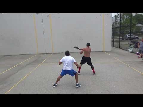 The Finals... Willie Chavez vs The Warrior... Big Blue Paddleball Singles 7.22.18