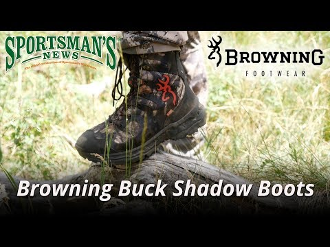 Browning Buck Shadow Boots Review