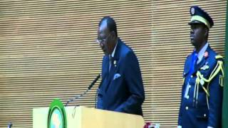 Acceptance Statement by the incoming Chairperson of the African Union, H.E. Mr. Idriss Deby Itno thumbnail