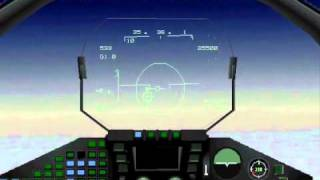 EF2000 old  dos game (1995) video
