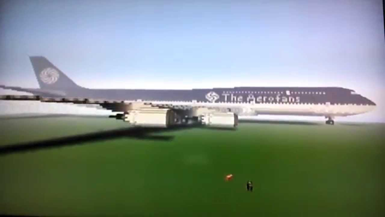 Minecraft Boeing 747 8 Theaerofans Airlines Youtube