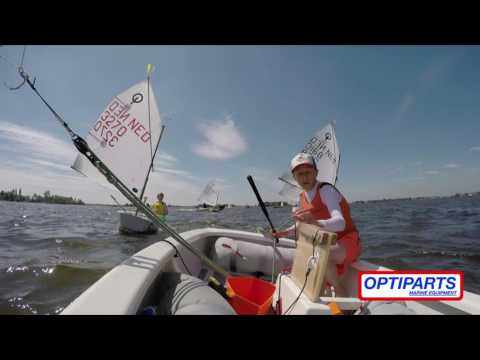 Impression Optiparts Dutch Team Race Championship 2017. Sailing Team ''H'' In Action!!