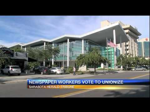 Harold Tribune newspaper workers form union