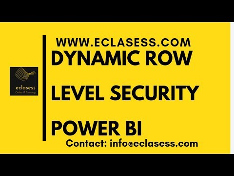 Dynamic-Row-Level Security(RLS) in Power BI