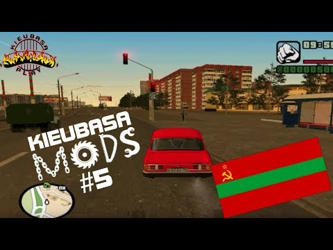 KieubasaMods #5 -  GTA San Andreas - Moldavian SSR