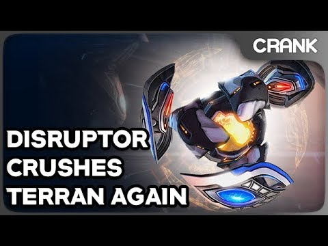 Disruptor Crushes Terran Again - Crank's StarCraft 2 Variety!