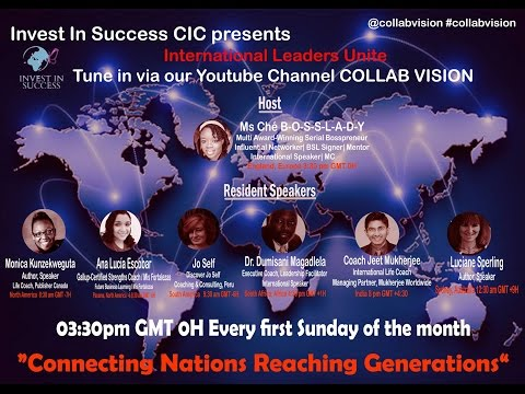 International Leaders Unite TALK SHOW | Episode 1 | Law Of Attraction, does it really work?