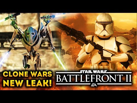 NEW CLONE WARS DLC LEAK! Geonosis, Skins and State of Star Wars Battlefront 2 and More! thumbnail