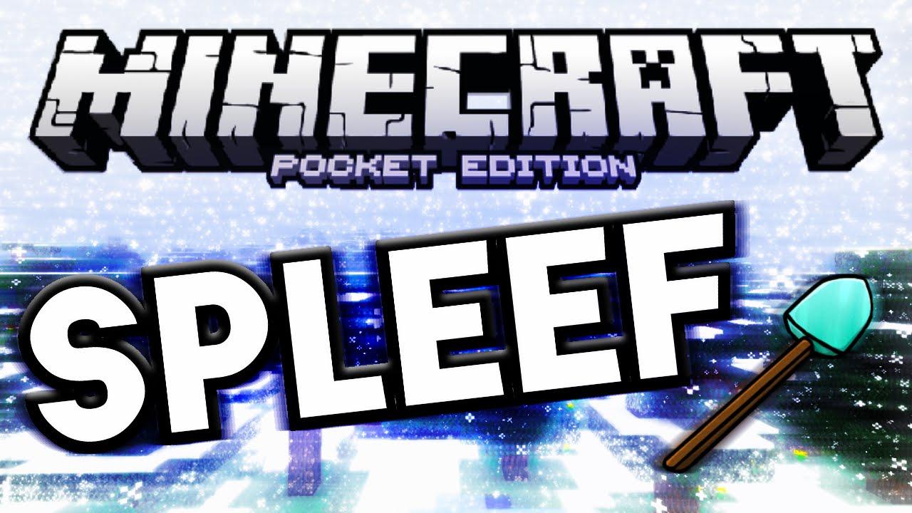 SPLEEF MCPE 0 13 1 MINIGAME SERVER Minecraft PE (Pocket Edition