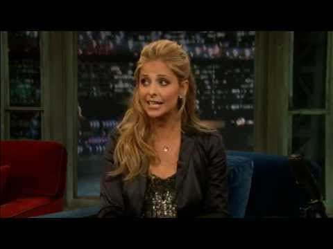 Sarah Michelle Gellar  Late Night with Jimmy Fallon September 12, 2011