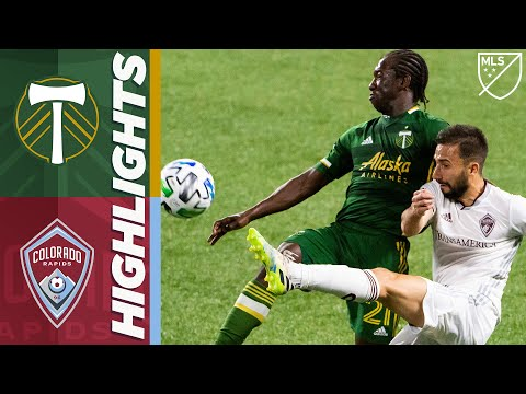 Portland Timbers Colorado Goals And Highlights
