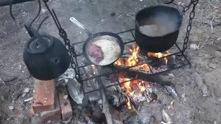 Таежная кухня: Грудка косача отбивная