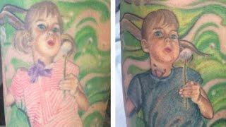 Mom Transforms Tattoo in Honor of Transgender Son