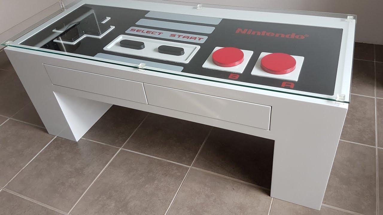 Nintendo Coffee Table Youtube