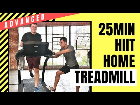 ADVANCE At-Home HIIT Treadmill Workout | The Tread Series