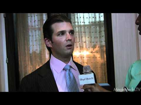 Donald Trump Jr. at Operation Smile 9th Annual Smile Gala in Los Angeles