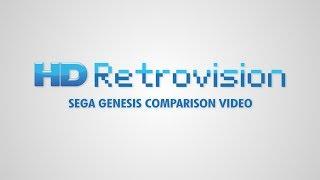 Sega Genesis - Composite vs Component