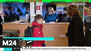 В образовательных учреждениях вводят режим повышенной готовности из-за коронавируса - Москва 24