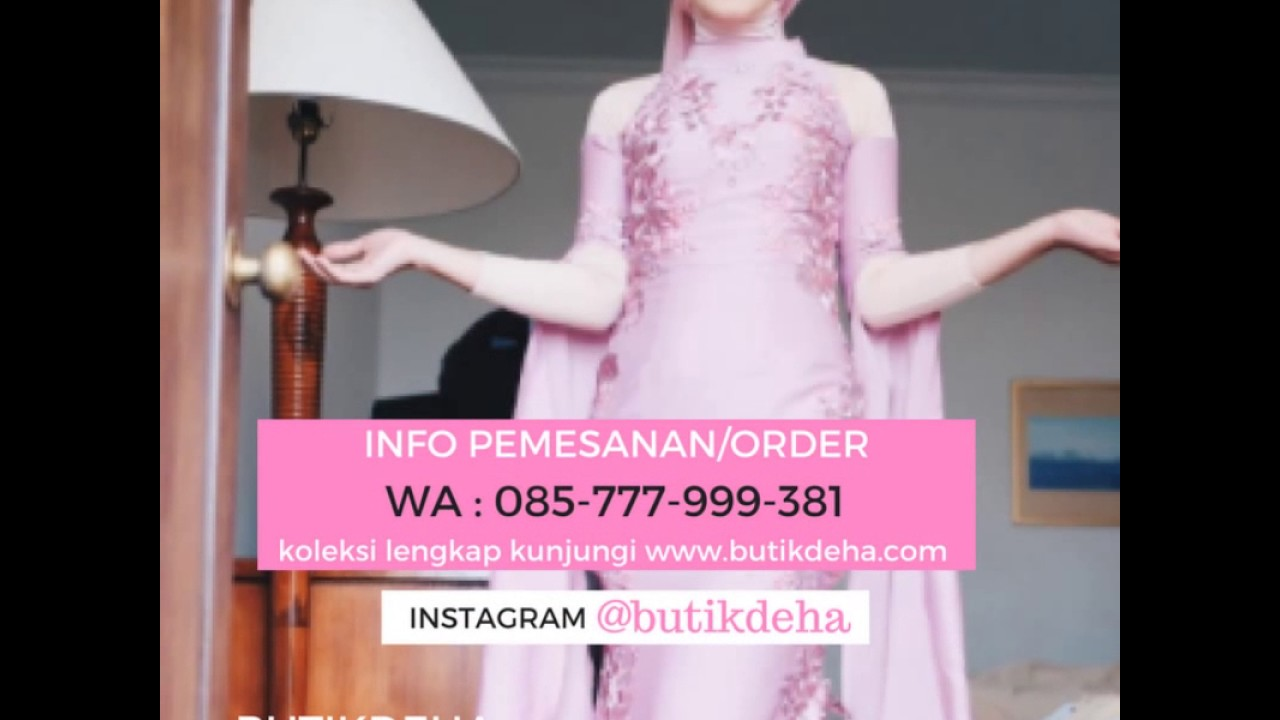 Inspirasi Gaun Keluarga Muslimah Hubungi Cs 085777999381