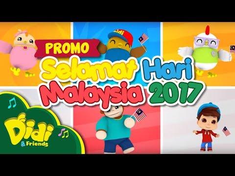 Selamat Hari Malaysia 2017 | Didi & Friends
