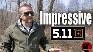 Waterproof? - 5.11 Tactical Aurora Shell - Review
