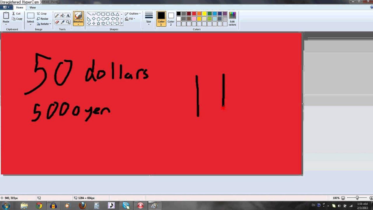Japanese Yen Symbols Tutorial Youtube