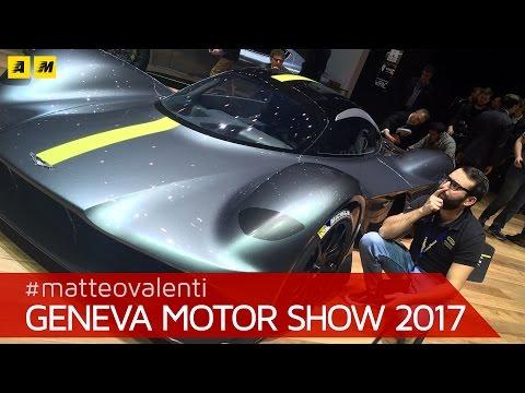Aston Martin Valkyrie AM-RB 001: F1 omologata | Salone di Ginevra 2017