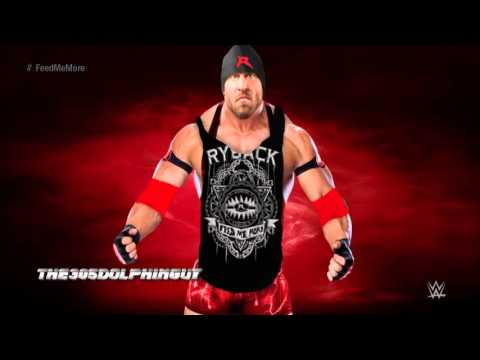 #WWE  Ryback 8th Theme   Meat On the Table HQ + Feed Me More Quote + Arena Effects