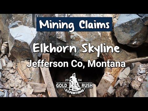 Historic Elkhorn Skyline Gold Mining Claim - Montana - 2016