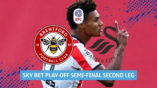 Brentford v Swansea City | Extended highlights of crucial Play-Off Semi-Final second leg!
