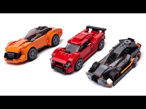 new lego 2019 speed champions sets alternative build. Black Bedroom Furniture Sets. Home Design Ideas
