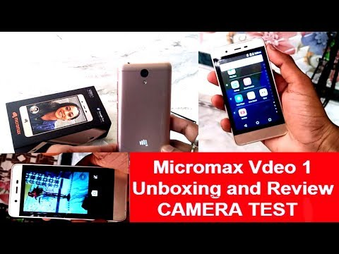 Micromax Vdeo 1 Unboxing and Review low budget 4g mobile micromax mobile unboxing in hindi | vdeo 1
