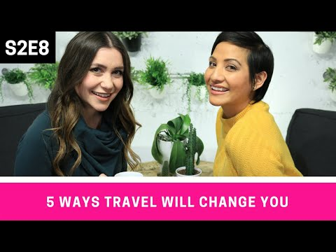 5 Ways TRAVEL Can Help You Discover Yourself w/ Nadine Sykora