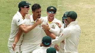 Starc fired up after special delivery