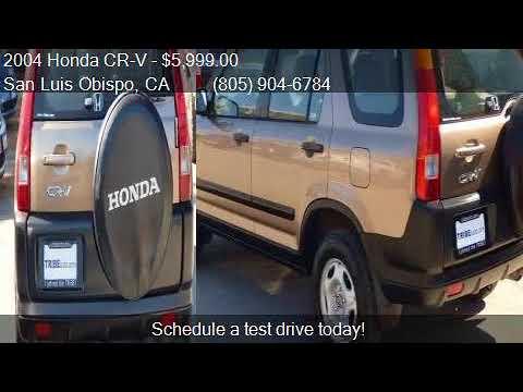 2004 Honda CR V LX AWD 4dr SUV For Sale In San Luis Obispo,
