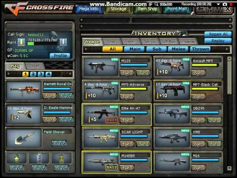 How to change your rank in crossfire ph?